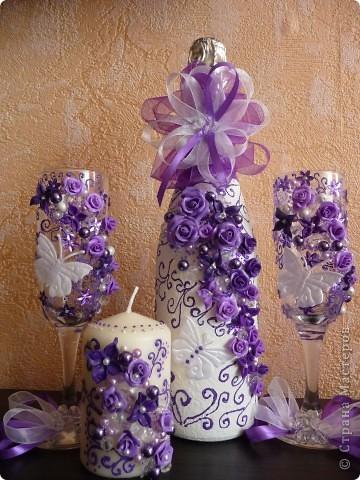 """Свадебные наборы """"Бабочки"""" фото 2"""