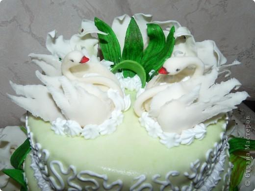 Хочу выставить свои торты вам на обозрение. Училась лепить в стране у мастериц по лепке из холодного фарфора. фото 2