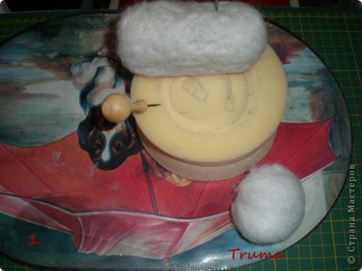 Войлочного кролика с тортиком на сердце сваляла  к Дню Рождения старшего сына  для украшения его подарка!!! Лапки у кролика на ниточном креплении. фото 2