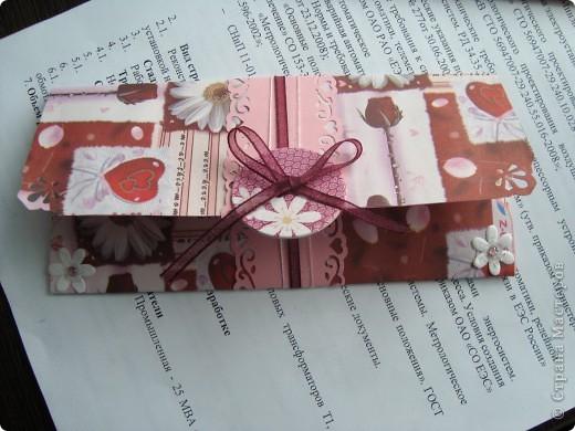 Подарочный конвертик фото 1