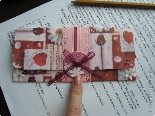 Подарочный конвертик фото 2