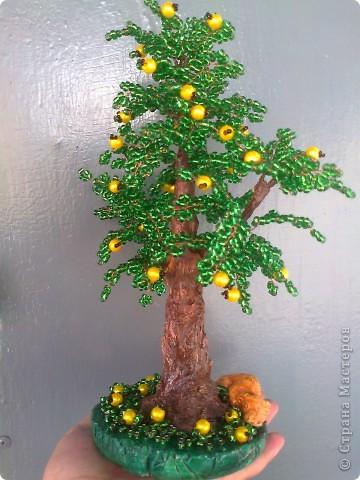 Вот такое деревце у меня получилось.Судить вам.Высота 28 см. фото 4