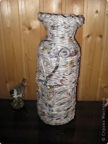 Вот такая ваза теперь на даче стоит фото 3