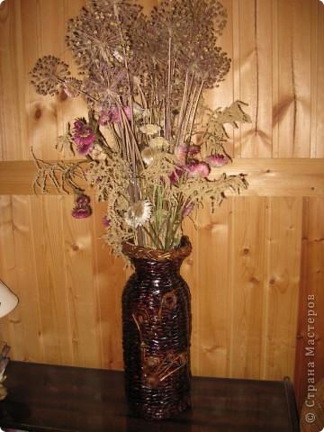 Вот такая ваза теперь на даче стоит фото 1