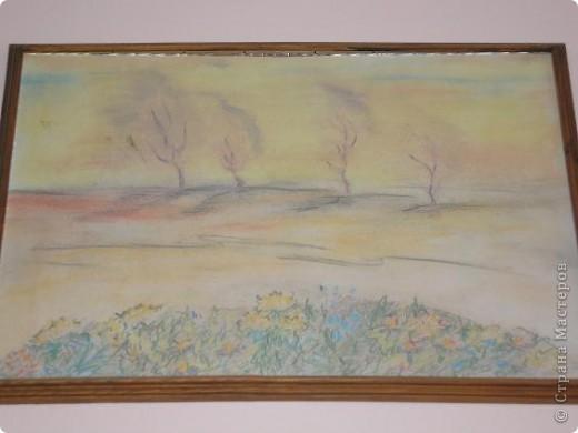 """Добрый вечер, Страна! В предверии осени захотелось тепла и красок, спокойствия и тишины! Вот и одна из моих работ, работа пастелью - """"Осень"""". фото 1"""