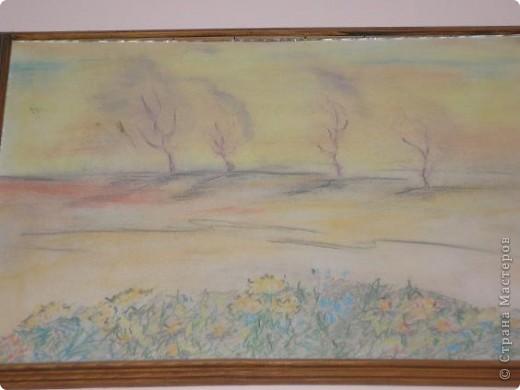 """Добрый вечер, Страна! В предверии осени захотелось тепла и красок, спокойствия и тишины! Вот и одна из моих работ, работа пастелью - """"Осень"""". фото 2"""