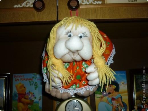 кукла-попик лицо