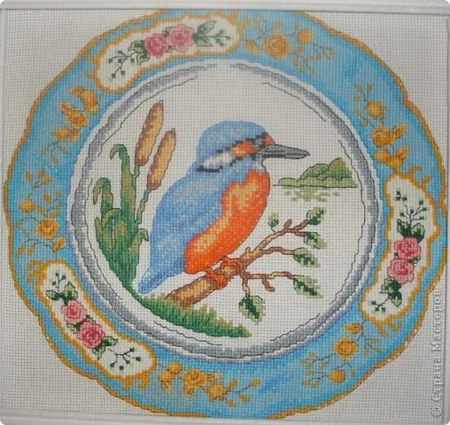 тарелка с птицей