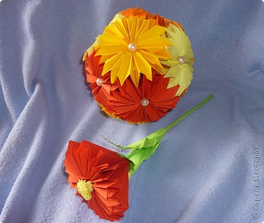 Ноготки-оригами фото 3