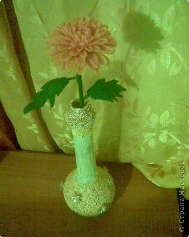 Хризантемы из холодного фарфора фото 3
