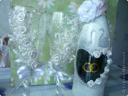 презент куме на годовщину свадьбы.( у нас день рождения мой, годовщина свадьбы у кумы и свадьба у подруги в один день была.) фото 2