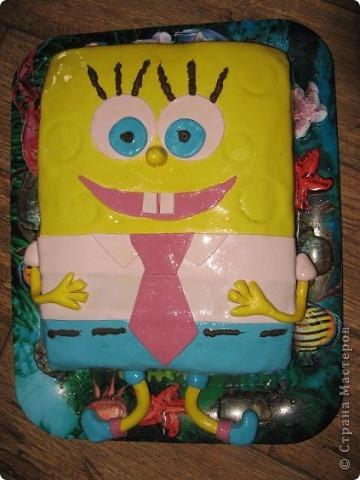 Этот тортик пекла племяннику на 1 день рождения фото 1