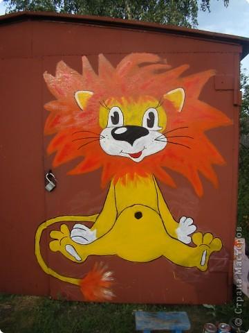 а это наши добрые друзья.мыр мяу львёнок и его друг  микки маус. фото 3