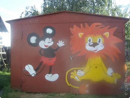 а это наши добрые друзья.мыр мяу львёнок и его друг  микки маус. фото 1