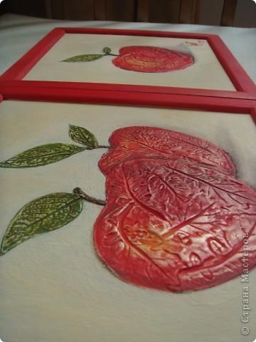 "Триптих ""Яблочки"" фото 3"