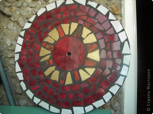 мозаика-часы фото 5