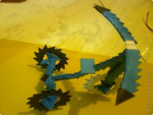 """Вместе с Андреем(8 лет) Сделали модули, потом их вместе собирали.Спасибо,всем """"жителям"""" страны мастаров за идеи и МК в которых все понятно и доходчиво показано. Я думала ,что у меня оригами никогда не получится."""