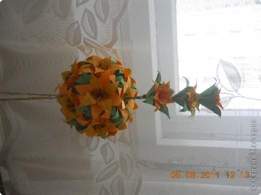 Эти лилии  моей сестренке на День рождения с сыном сделали. фото 1