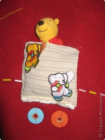 Вот и я,наконец, сшила развивающий коврик своим мальчишкам. Спасибо, большое за вдохновление Хвостики http://stranamasterov.ru/user/31099 и Дюй http://stranamasterov.ru/user/68700  фото 5