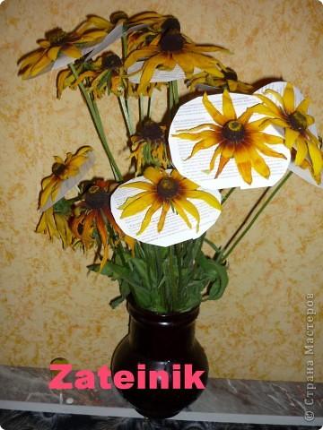 """Засушиваем цветы """"Зимний букет"""" фото 1"""