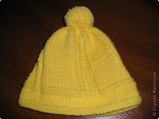 Детская шапочка №3