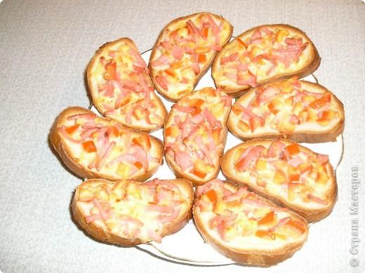 Бутерброды «Италия на ладошке»