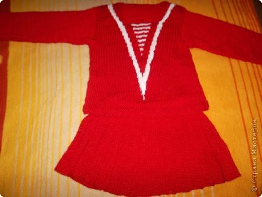Скоро осень... Вот и готов костюмчик для внучки на 3 годика. фото 1