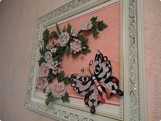 Вот такая картина теперь красуется в комнате моей дочечки. фото 3