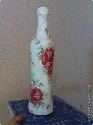 моя вторая бутылочка))) первая была сделана на Новый 2011 год фото 3