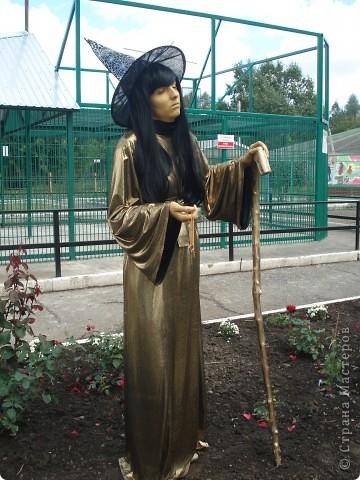 """В прошедший выходной в городском парке """"Лесная сказка"""" проходила демонстрация живых скульптур. Приглашаю и вас, жители страны, прогуляться по нашему парку. Юная гречанка. фото 5"""