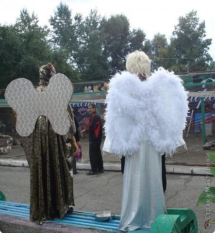 """В прошедший выходной в городском парке """"Лесная сказка"""" проходила демонстрация живых скульптур. Приглашаю и вас, жители страны, прогуляться по нашему парку. Юная гречанка. фото 9"""