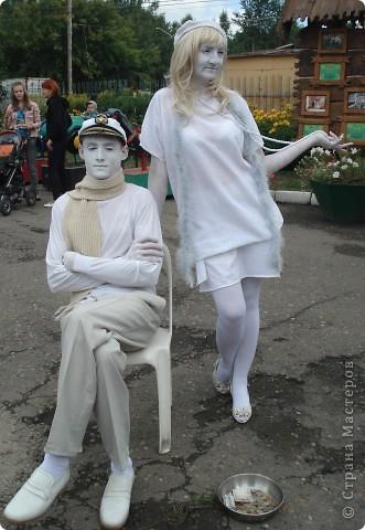 """В прошедший выходной в городском парке """"Лесная сказка"""" проходила демонстрация живых скульптур. Приглашаю и вас, жители страны, прогуляться по нашему парку. Юная гречанка. фото 10"""