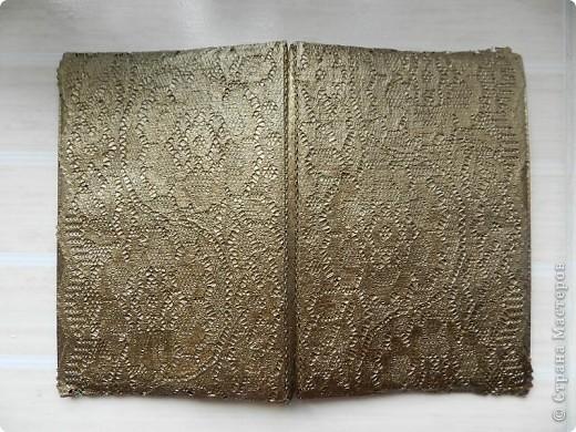 кружевная обложка для паспорта