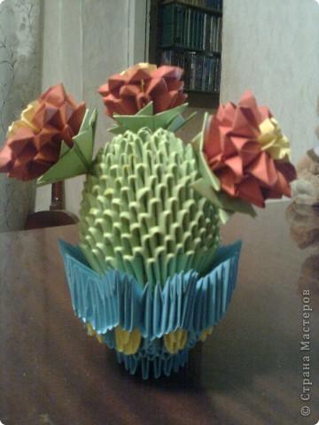 Моя первая работа в модульном оригами фото 3