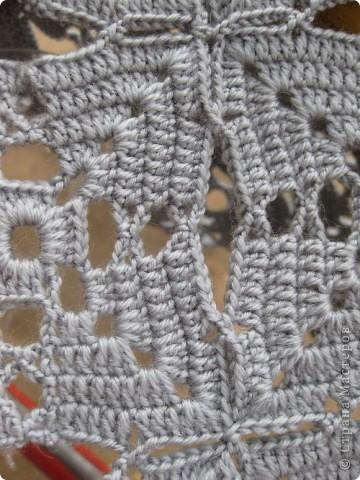 Гардероб Вязание крючком Вяжем в компании  Шарф-косынка Пряжа фото 5