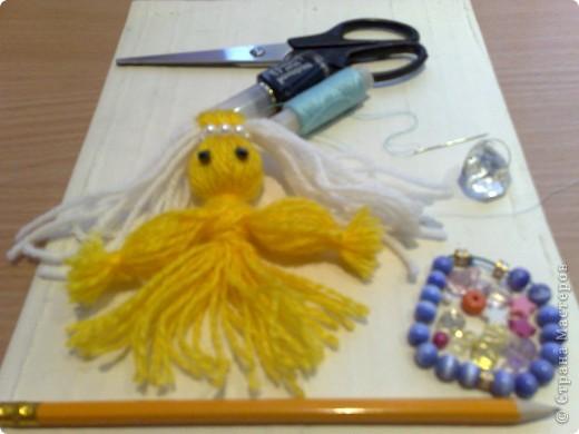 Чудесная куколка из ниток! фото 1