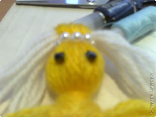 Чудесная куколка из ниток! фото 2