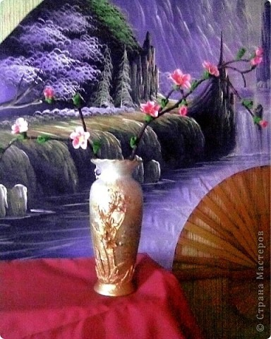 Реанимация старой вазочки.