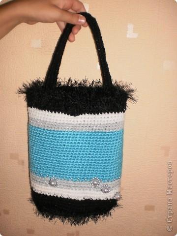 Моя вязанная сумочка фото 3
