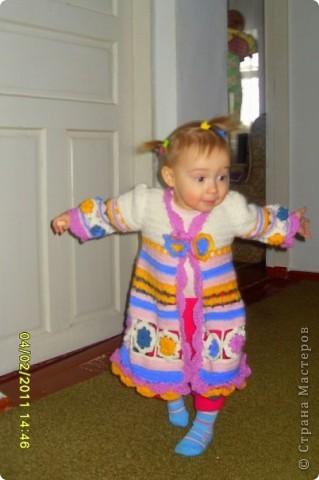 Пальто для дочечки фото 1