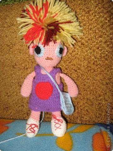 Вязанная кукла Йока
