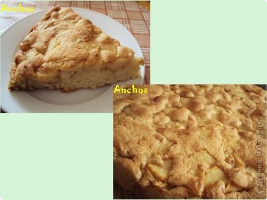 Нежный и воздушный яблочный пирог. фото 1