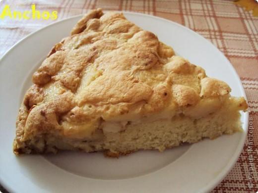 Нежный и воздушный яблочный пирог. фото 3