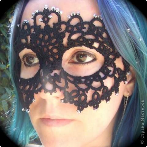 Кружевная маска фото 2