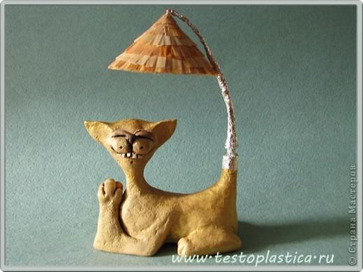 Кошки из соленого теста. фото 6