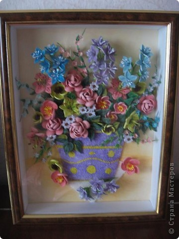 Здравствуйте жители страны. С праздником Вас. В конце лета и я собрала букет из летних цветов. фото 12