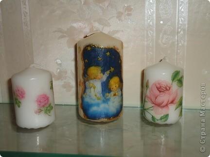 Свечи с летними мотивами фото 1