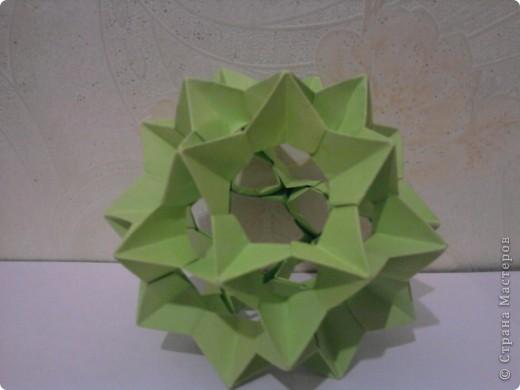 1. Кусудама Томоко Фусе. Делала по МК от Ронаты http://stranamasterov.ru/node/166225?tid=451%2C850. Очень просто и красиво. фото 6