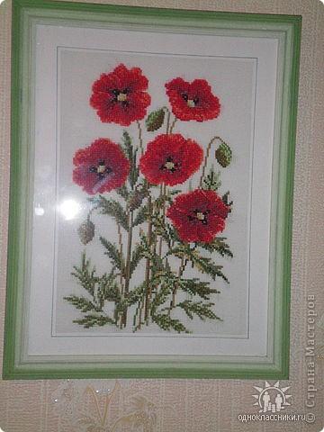 """Больше всего люблю вышивать цветы.  """"Лилия"""" фото 5"""
