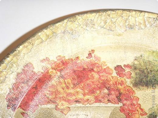 В работе использованы салфетки, акриловые краски, акриловый мат.лак фото 4